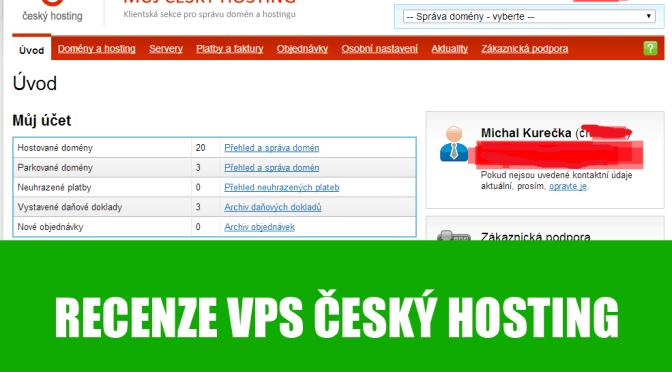 Český hosting VPS