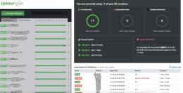 uptime robot monitoring webu